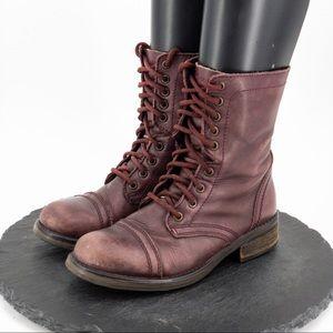 Steve Madden Womens Moto Boots Size 8.5M